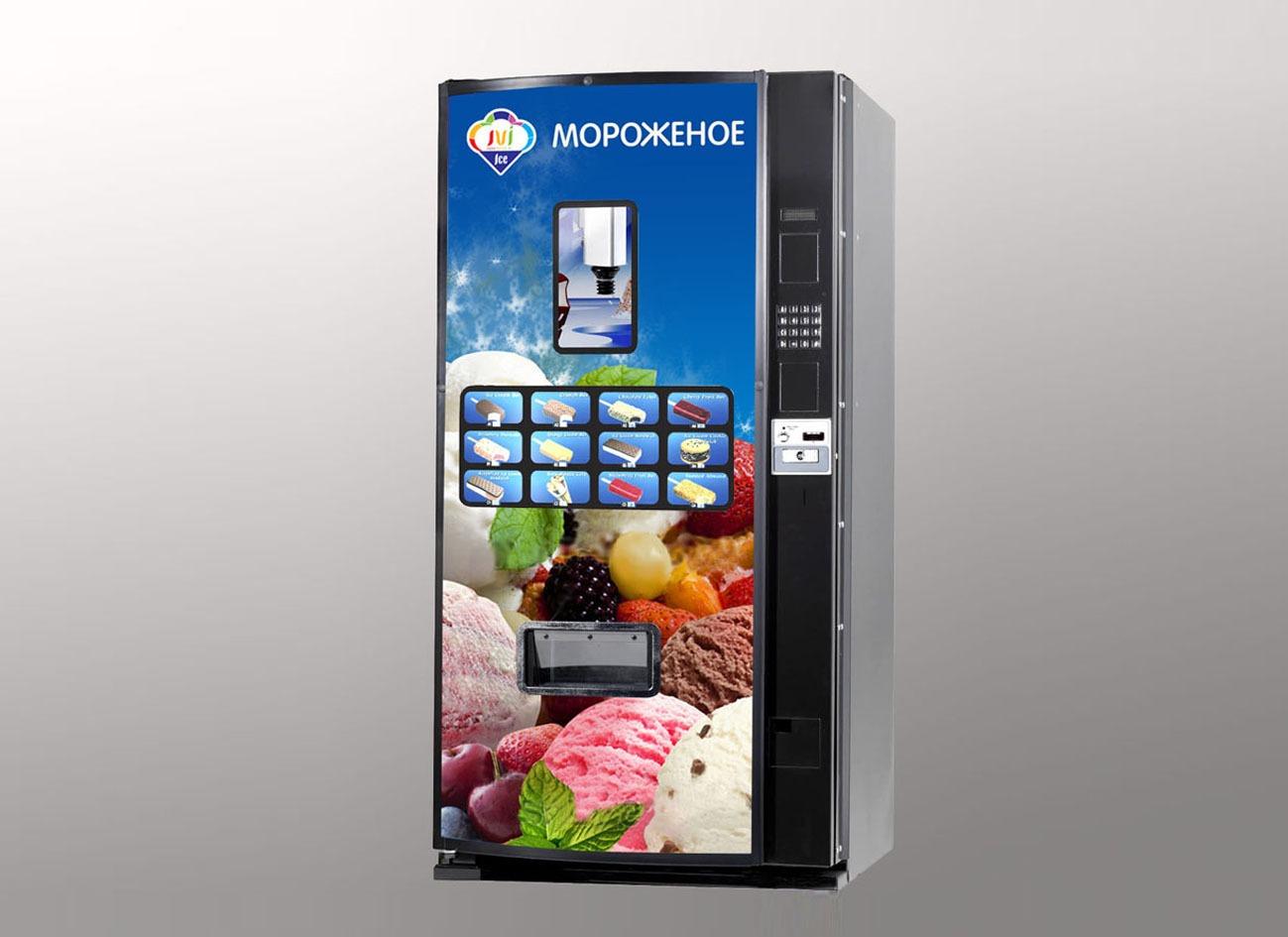 брендирование вендингового автомата JVI